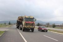 Kilis'ten Fırat'ın Doğusuna Fırtına Obüs, Tank Ve ZPT Sevkıyatı