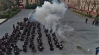 ŞEHİT POLİS - (Özel) Gece Kartallarının Zorlu Eğitimi  Havadan Görüntülendi
