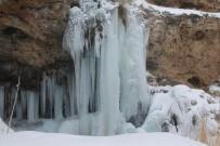 Şelale Buz Tuttu