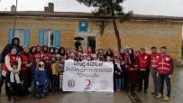 GAZIANTEP ÜNIVERSITESI - Üniversite Öğrencilerinden Köy Okullarına Yardım