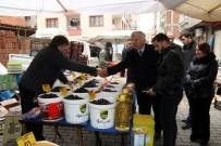 AK Parti Beşikdüzü Belediye Başkan Adayı Demirci Pazarı Gezdi, Yeni Pazar Yeri Müjdesi Verdi