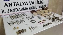 BRONZ HEYKEL - Antalya'da Tarihi Eser Kaçakçılığı Operasyonu