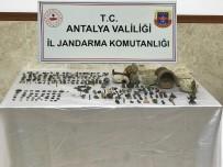 BRONZ HEYKEL - Antalya'da Tarihi Eser Operasyonu