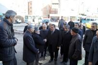 SERVİSÇİLER ODASI - Başkan Gürkan, Minibüsçü Esnafı İle Buluştu