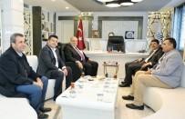 CHP Milletvekili Tutdere Başkan Kutlu İle Bir Araya Geldi