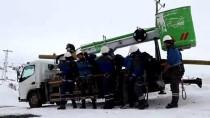 Enerji Timlerinin Kara Kışta Zorlu Mesaisi