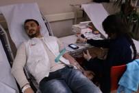 Genç Yeryüzü Doktorları Kulübünden Kan Bağışı Kampanyasına Destek