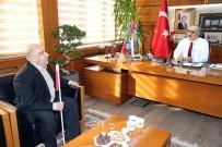 MELİH GÖKÇEK - Görme Engelli Öğretmenden Başkan Aydın'a Teşekkür
