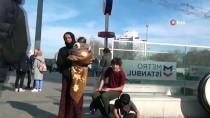 TAKSIM MEYDANı - (Özel) Aile Boyu Dilencilere Gözaltı