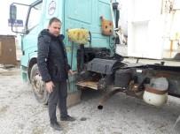 ALTUNTAŞ - Park Halindeki Sürücü Kursunun Tır'ının Aküsünü Çaldılar