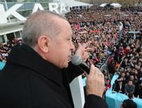 ANKARA SPOR SALONU - Erdoğan, AK Parti'nin 11 maddelik seçim manifestosunu açıkladı