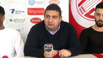 Antalyaspor'da 3 Transfer İçin İmza Töreni