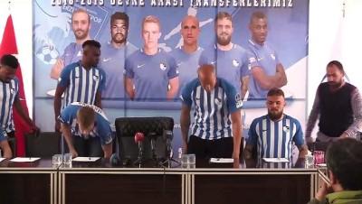 Büyükşehir Belediye Erzurumspor 6 Futbolcuyla Sözleşme İmzaladı