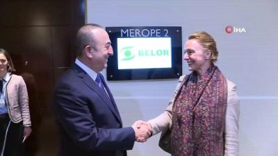 Çavuşoğlu Hırvatistan Dışişleri Bakanı Buric İle Görüştü
