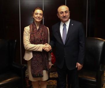 Dışişleri Bakanı Çavuşoğlu Hırvat Mevkidaşı İle Görüştü