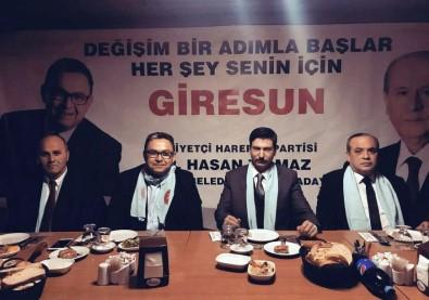 MHP'nin Giresun Belediye Başkan Adayı Tanıtım Toplantısı