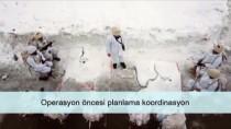 MUHAKEME - MSB Komandoların Karlı Dağlarda Yaptığı Operasyonun Videosunu Paylaştı