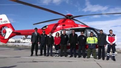 Vali Ayhan, Ambulans Helikopteri Tanıttı