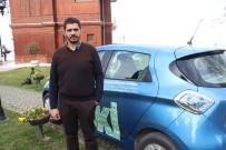 Yalova'nın Elektrikli İlk Resmi Kurum Arabası Yürüyen Köşk'te Tanıtıldı