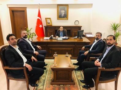 AK Ocaklar'dan Ergani Kaymakamı Sayın'a Ziyaret