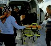 Astım Hatası Yaşlı Adamın İmdadına Paletli Ambulans Yetişti