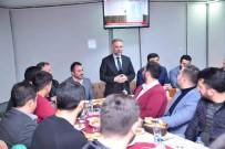 İLİM YAYMA CEMİYETİ - Başkan Ertürk Ve Belediye Başkan Adayı Oğuz Gençlerle Buluştu