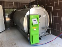 Büyükşehir'den Süt Üreticisine Soğutma Tankı Desteği