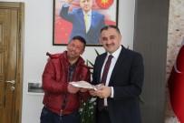 UZUN ÖMÜR - Develi'nin Gülü Sinan'dan Başkan Cabbar'a Doğum Günü Hediyesi