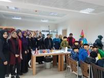 EBRU SANATı - DÜ Mutlu Yuva Çocuk Evlerinde Kalan Minikleri Ağırladı