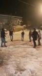 Kar Yağışını Kafkas Dansıyla Karşıladılar