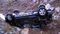Kazazede, Suya Düşen Aracın Sürücüsünü Kurtardı
