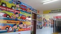 TRAFİK EĞİTİMİ - Kulu Atatürk İlkokuluna Trafik Eğitimi Ve Akıl-Zeka Oyunları Koridoru Açıldı