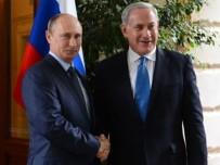 VLADIMIR PUTIN - Putin Ve Netanyahu ABD'nin Suriye'den Çıkmasını Görüştü
