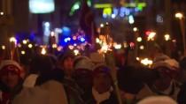 YUSUF İZZET KARAMAN - Sarıkamış Şehitleri İçin Meşaleli Yürüyüş
