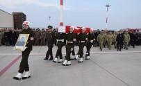 TUGAY KOMUTANI - Şehit Asker Törenle Memleketine Uğurlandı