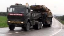 ASKERİ KONVOY - Suriye Sınırına Askeri Sevkiyat