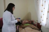 DİYABET HASTASI - Yatalak Hastaya İl Sağlık Müdürlüğü Sahip Çıktı