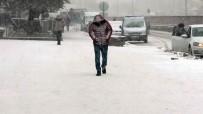 Yozgat'ta Kar Yağışı Ve Tipi Etkili Oldu