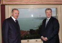 VAHDETTIN - Cumhurbaşkanı Erdoğan, Ukrayna Devlet Başkanı Poroşenko İle Görüşüyor