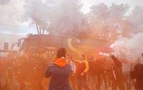 YOUNES BELHANDA - G.Saray'a Antalya'da coşkulu karşılama