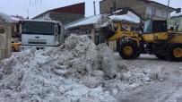 Günlük 70 Kamyon Kar Taşınıyor