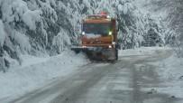 Kazdağları'nda Karla Mücadele Devam Ediyor
