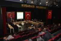 ESNAF VE SANATKARLAR ODASı - Kuşadası Belediye Meclisi Yılın İlk Toplantısını Yaptı