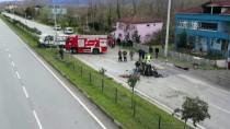 Samsun'da Otomobille Kamyonet Çarpıştı Açıklaması 1 Ölü, 1 Yaralı