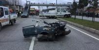 Samsun'da Trafik Kazası Açıklaması 1 Ölü, 1 Yaralı
