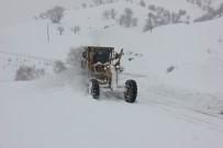 Bingöl'de 281 Köy Yolu Kar Yağışı Nedeniyle Kapandı