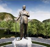 BRONZ HEYKEL - Çamlık'taki Atatürk Anıtı Yenileniyor