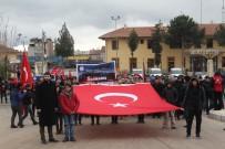Elazığ'da 'Sarıkamış Şehitlerine Saygı Yürüyüşü'