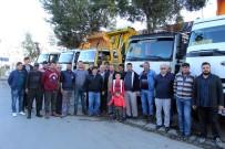 HAFRİYAT KAMYONU - Hafriyatçıların Ton Başı Alınan Paranın Kaldırılması Talebi