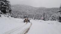 Kahramanmaraş Kayak Merkezinde Kar Kalınlığı 2 Metreyi Aştı